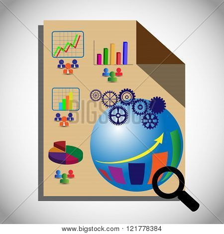 Concept of Business Intelligence Testing Which also represents OLAP which performs the multidimensional analysis of business data. Also represents Analytic Dashboard Reporting and infographics.