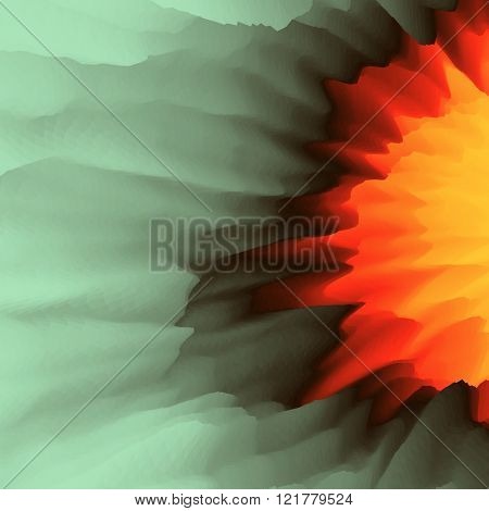 Lava. Abstract background. Modern pattern. Vector Illustration For Your Design.
