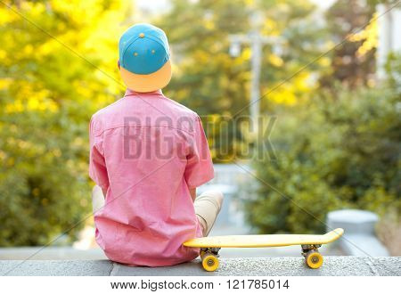 Skaterboy outdoors