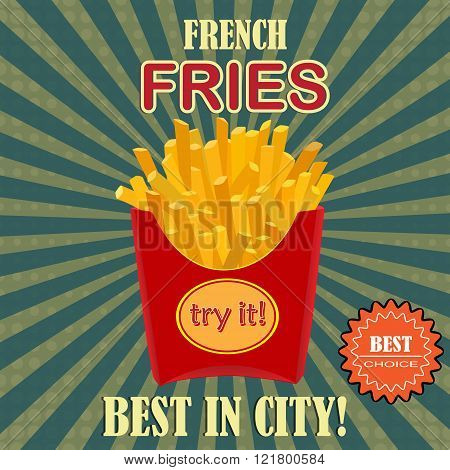 French fries potato