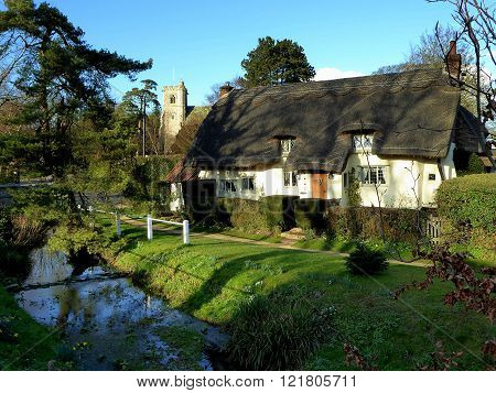 An English country village