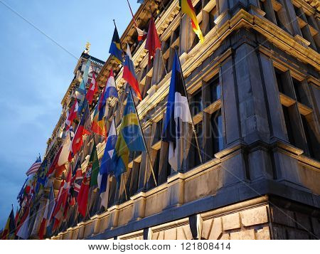 THE FAMOUS CITY OF ANTWERP IN BELGIUM