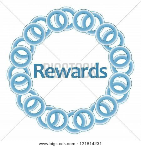 Rewards Blue Rings Circular