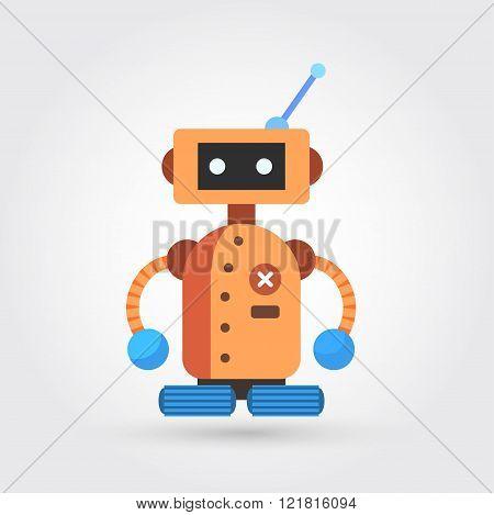ute vintage robot