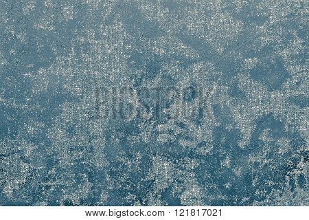 Abstract Spotty Texture Fabric Of Pale Sea Color