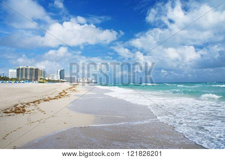 South Beach Of Miami