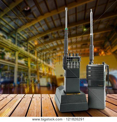 Industrial Portable Radio