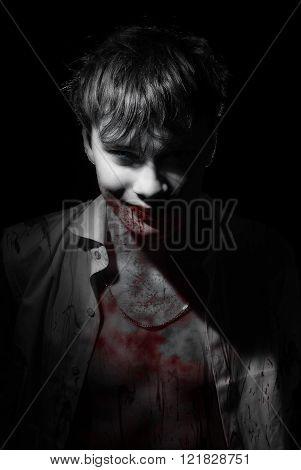 Portrait of vampire blood