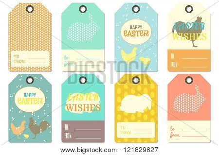 Happy Easter Gift Tags.