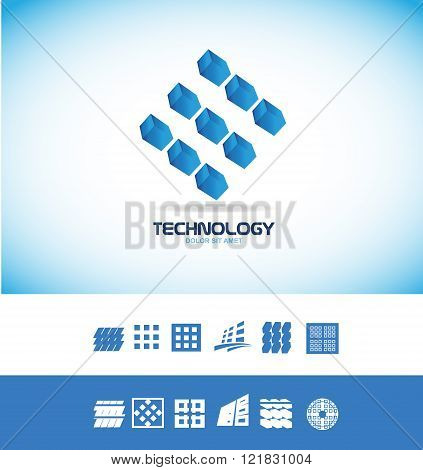 Technology Microchip Logo