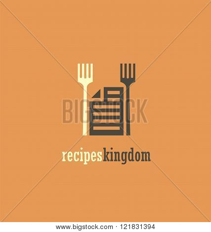 Unique icon idea for recipes book