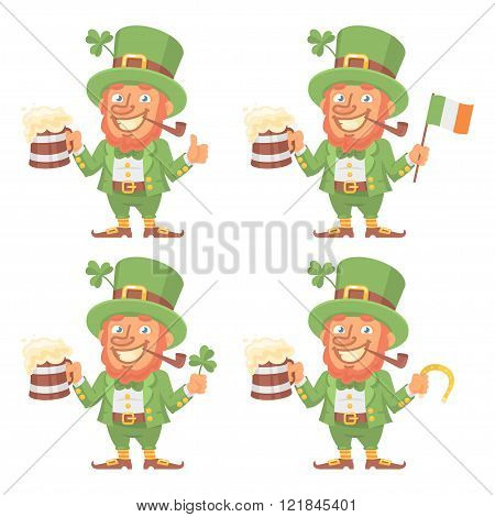St. Patrick Character in Different Versions