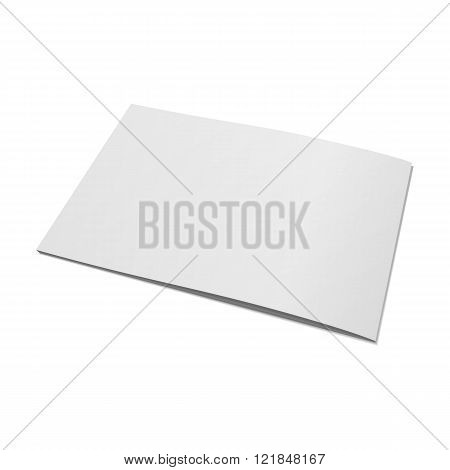 Blank Magazine or Brochure Template