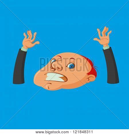 Drowning Man Cartoon