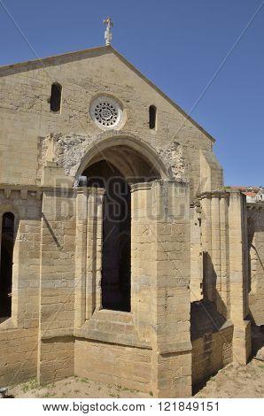 Ruins Of Facade Of Monastery
