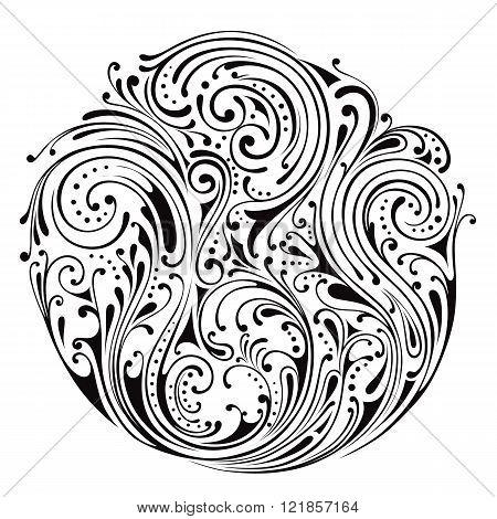 Ornamental circle