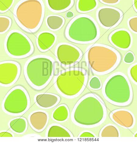seamless pattern of roundish stones