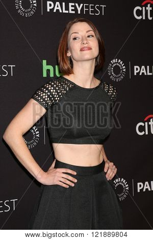 LOS ANGELES - MAR 13:  Chyler Leigh at the PaleyFest Los Angeles - Supergirl at the Dolby Theater on March 13, 2016 in Los Angeles, CA