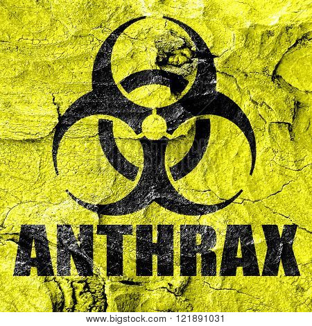 Anthrax virus concept background