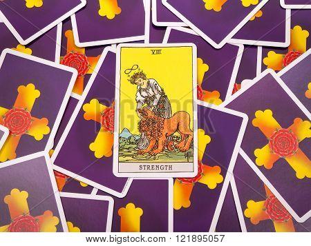 Tarot Cards Tarot, The Strength  Card