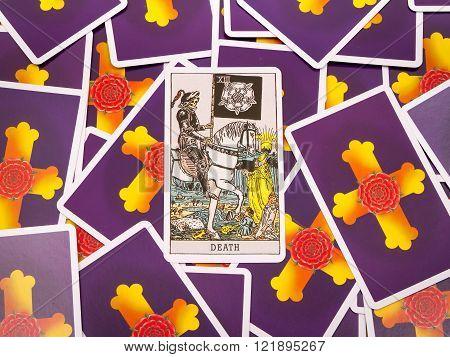 Tarot Cards Tarot, The Death Card