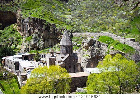 Geghard Monastic Complex, top view