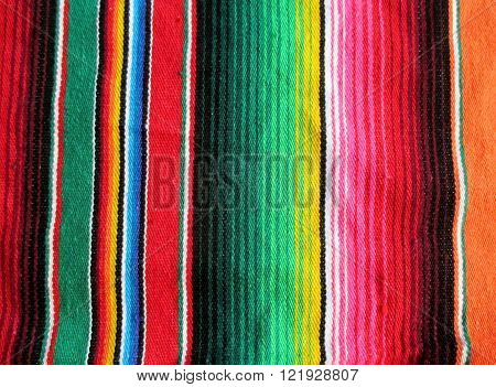 Mexico Poncho Background copy space serape fiesta
