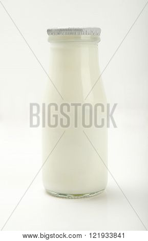 Buttermilk with classical Turkish drink, the most common presentation.