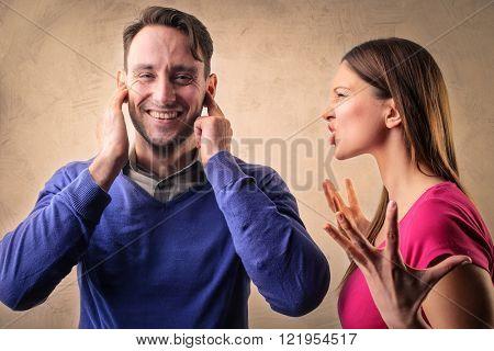 Ignoring her
