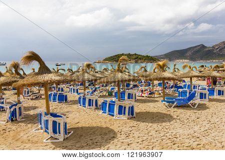 Beautiful view of Andratx Mallorca Baleares Spain