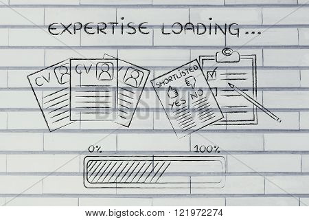 Expertise Loading: Cv And Shortlist Of Candidates