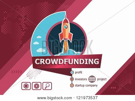 Crowdfunding Concepts For Business Analysis, Planning, Consulting, Team Work, Project Management.