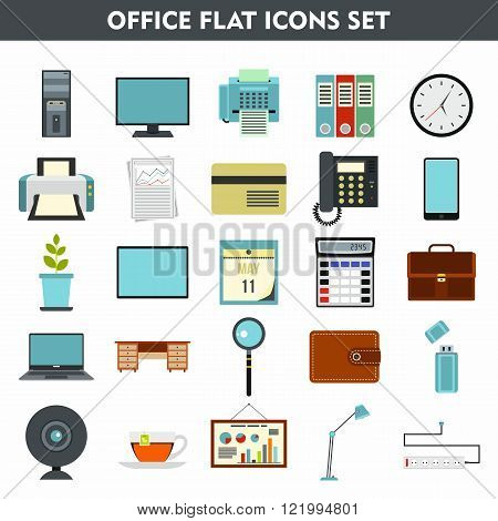 Modern cartoon icons set of office equipment. Premium quality cartoon symbol collection set of office equipment. Cartoon flat pictogram pack. cartoon vector logo concept web graphics. - stock vector