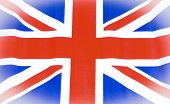 Abstract Great Britain Union Jack flack background poster