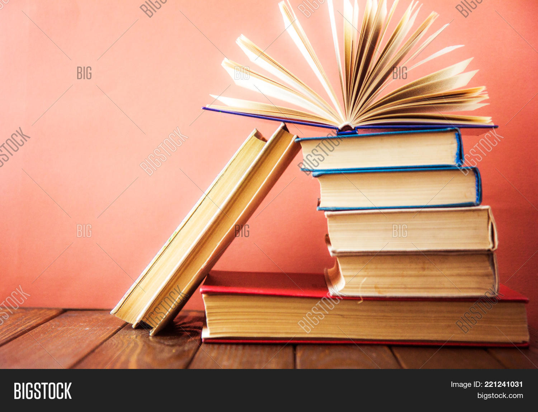 Book. Many Books. Image & Photo (Free Trial) | Bigstock