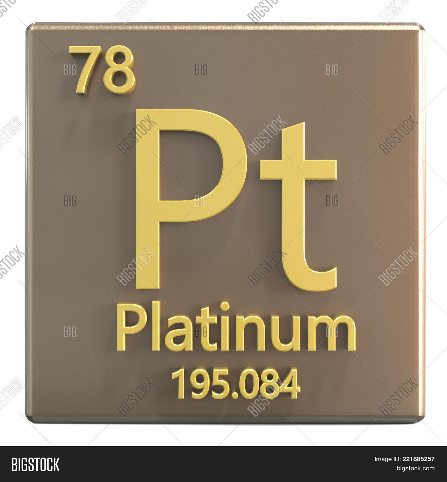 Platinum Chemical Image Photo Free Trial Bigstock