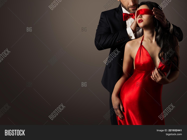 Couple Love Kiss, Sexy Image  Photo Free Trial  Bigstock-7803