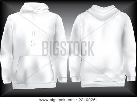 Jacket Or Sweatshirt  Or Hoodie Template