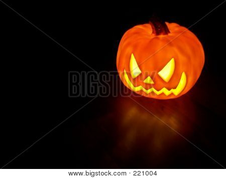 Glowing Pumpkin 1