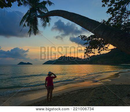 Sunset On The Beautiful Sea