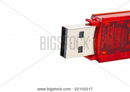 Red Usb Memory Stick
