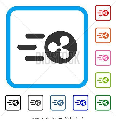 Fast Send Ripple Icon Vector Photo Free Trial Bigstock
