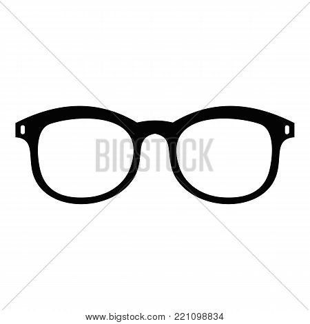 Glasses for myopic icon. Simple illustration of glasses for myopic vector icon for web