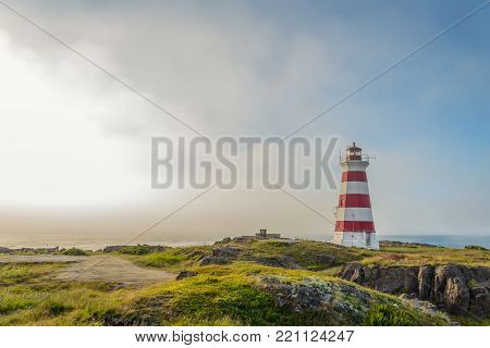 Western Light Lighthouse on Brier Island (Brier Island, Nova Scotia, Canada)