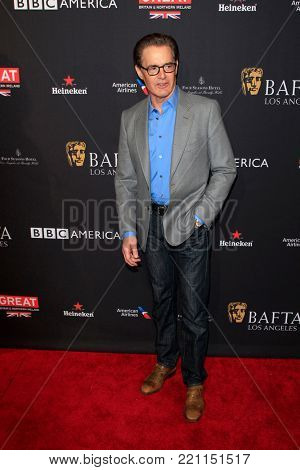 LOS ANGELES - JAN 6:  Kyle MacLachlan at the 2018 BAFTA Tea Party Arrivals at the Four Seasons Hotel Los Angeles on January 6, 2018 in Beverly Hills, CA