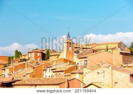 village of Roussillon
