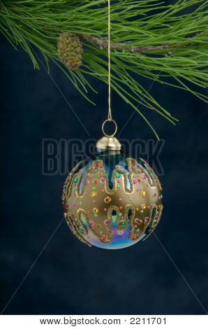 A Hanging Christmas Ornament