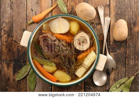beef,broth and vegetable
