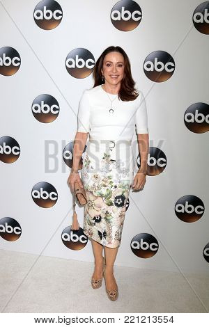LOS ANGELES - JAN 8:  Patricia Heaton at the ABC TCA Winter 2018 Party at Langham Huntington Hotel on January 8, 2018 in Pasadena, CA