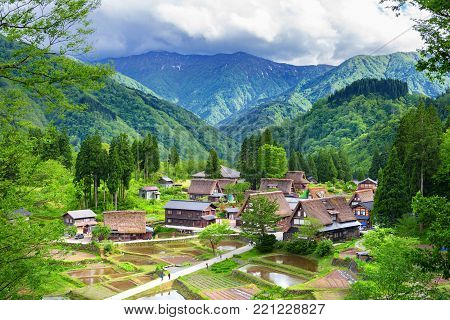 World Heritage Village Gokayama Village